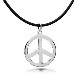 ACCESS: Peace Sign Pendant