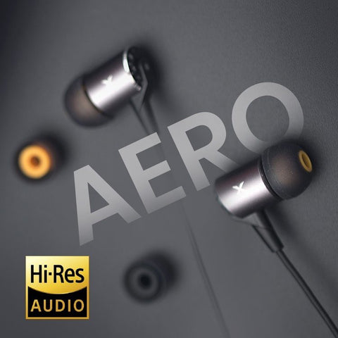 XROUND AERO HIGH RESOLUTION EARPHONES