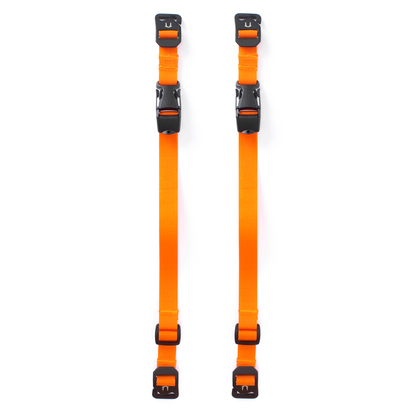 Black Ember SR Buckle Straps (Set Of Two)
