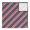 Brooklyn Stripe Pocket Square