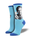Women's Mr Rogers Portrait Socks