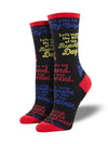 Women's Mr Rogers Quotes Socks