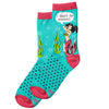 Women's Witty Mermaid Sock