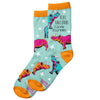 Women's Witty Rhino Sock