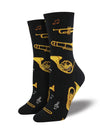 Women's Brass Instruments Socks