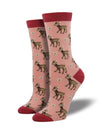 Women's Be a Deer Bamboo Socks