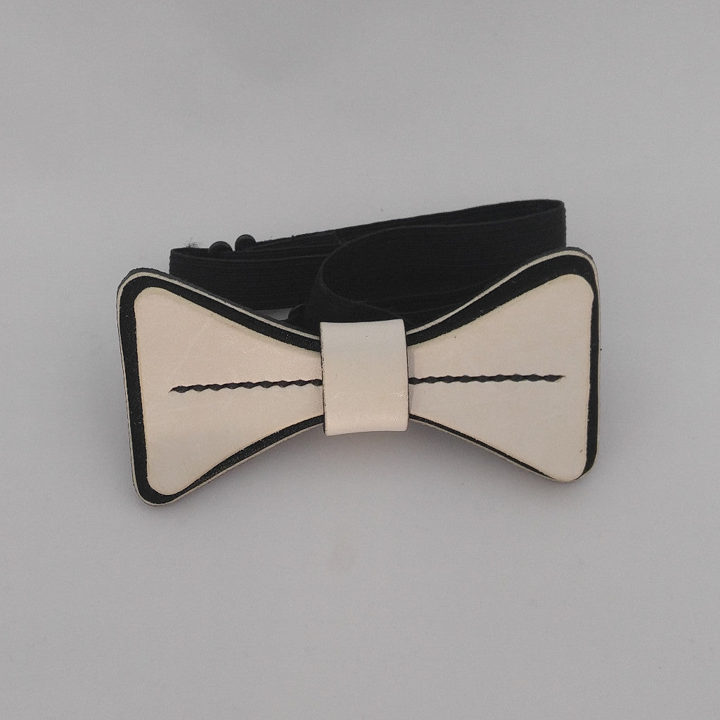 b2e4f5df3d26 Staple Leather Bow Tie