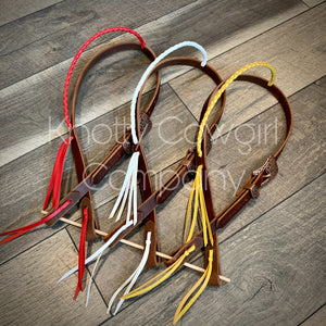 Braided Ear Headstall