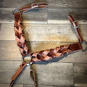 Wide Version Blood Knot Breast Collar