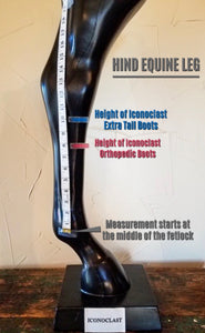 Iconoclast Tall Hind Orthopedic Support Boots