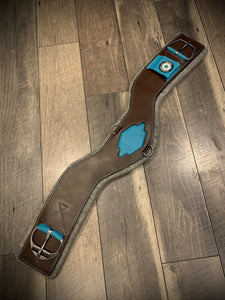 Limited Edition TEAL Shoulder Relief Cinch - Western (by Total Saddle Fit)