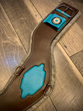 Load image into Gallery viewer, Limited Edition TEAL Shoulder Relief Cinch - Western (by Total Saddle Fit)