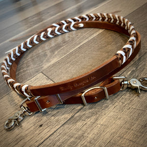 Laced Roping/Barrel Reins