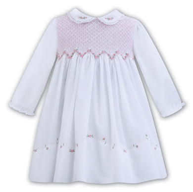 Smocking White Dress