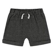 Turtledove Grid Jersey Shorts