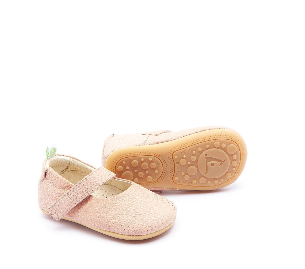 Dolly Baby Shoes in Arraia Pink Gold