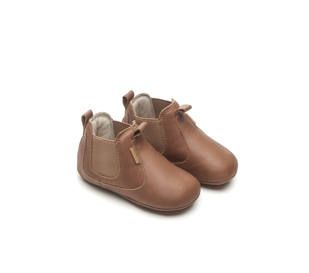 Kicky Baby Shoes in Whisky