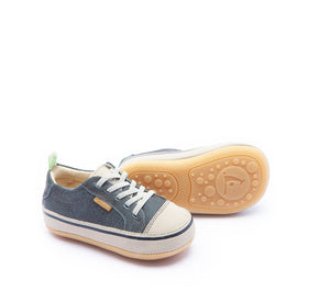 Funky Baby Shoes in Blue Rust / Pumice