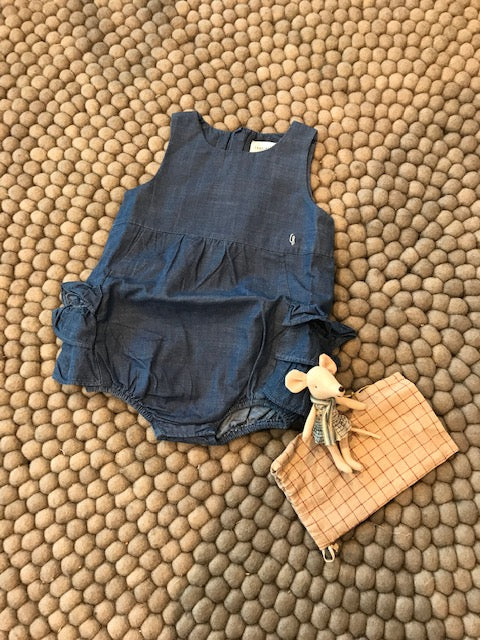 Carrement Beau Denim Playsuit