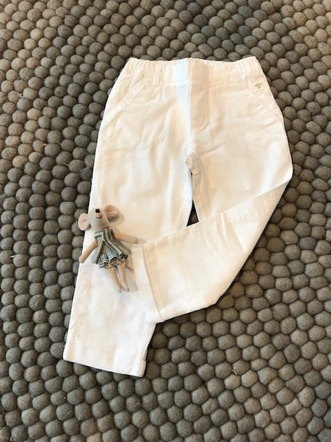 Carrement Beau White Trouser