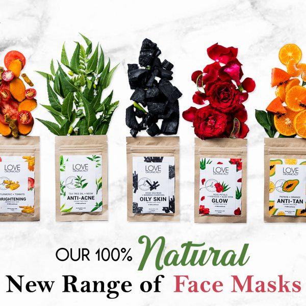 Our 100% Natural New Range of Face Packs!