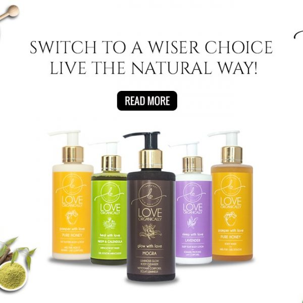 Switch to a wiser choice, Live life the natural way!
