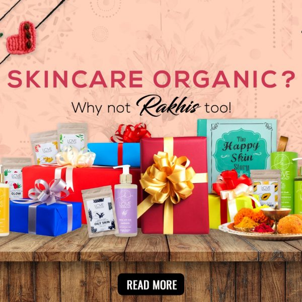 Organic skincare? Why not Rakhis too!