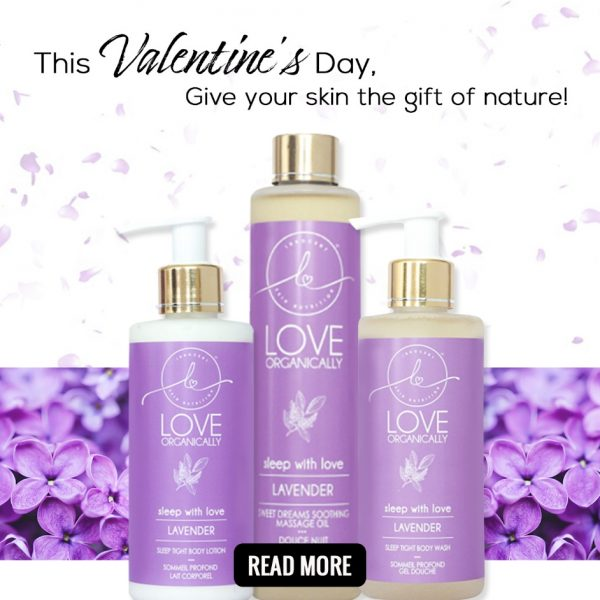 This Valentine's Day, Give your skin the gift of nature!