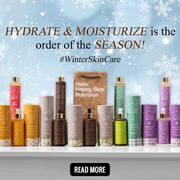 Hydrate & Moisturize is the order of the season! #HappilyHydrated