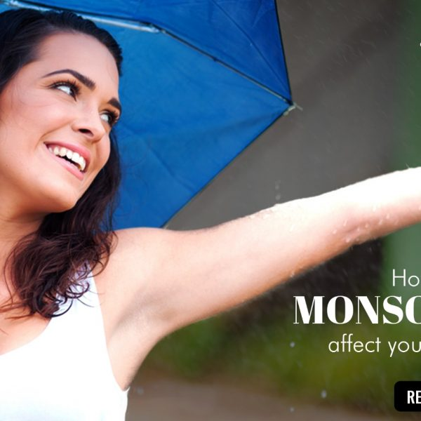 How does monsoon affect your skin?