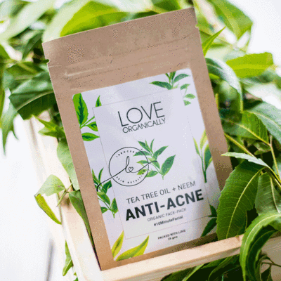 Anti Acne Face Pack ‰ Õ Tea Tree Oil + Neem