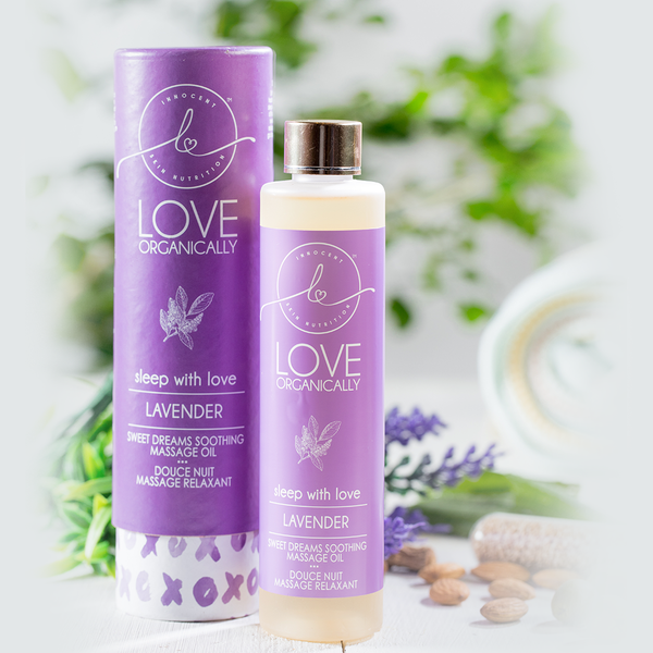 Relaxing & Calming Lavender Soothing Massage Oil