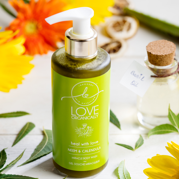 Miracle Antibacterial Face & Body Wash → Neem + Calendula