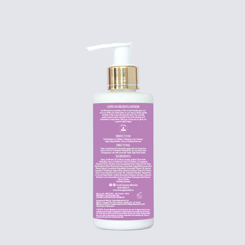 Sleep Tight Body Lotion - Relaxing & Calming Lavender