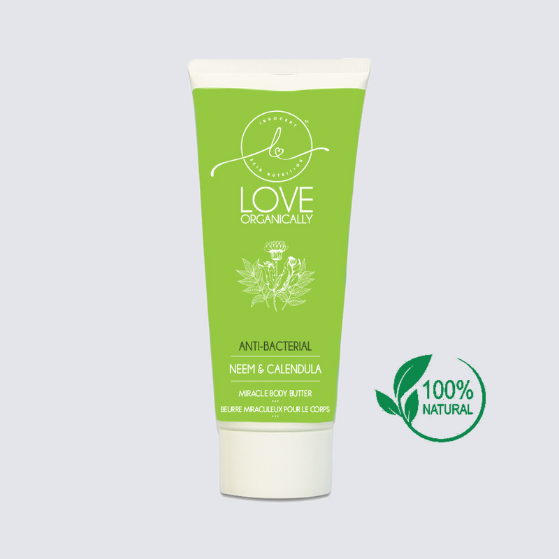 Miracle Antibacterial Body Butter → Neem + Calendula