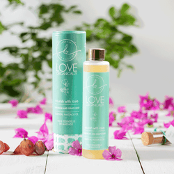 Nourish & Glow Massage Oil → Geranium + Grape Seed
