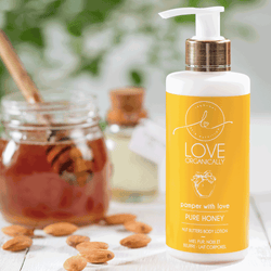 Hydrating & Pampering Pure Honey + Nut Butter Body Lotion