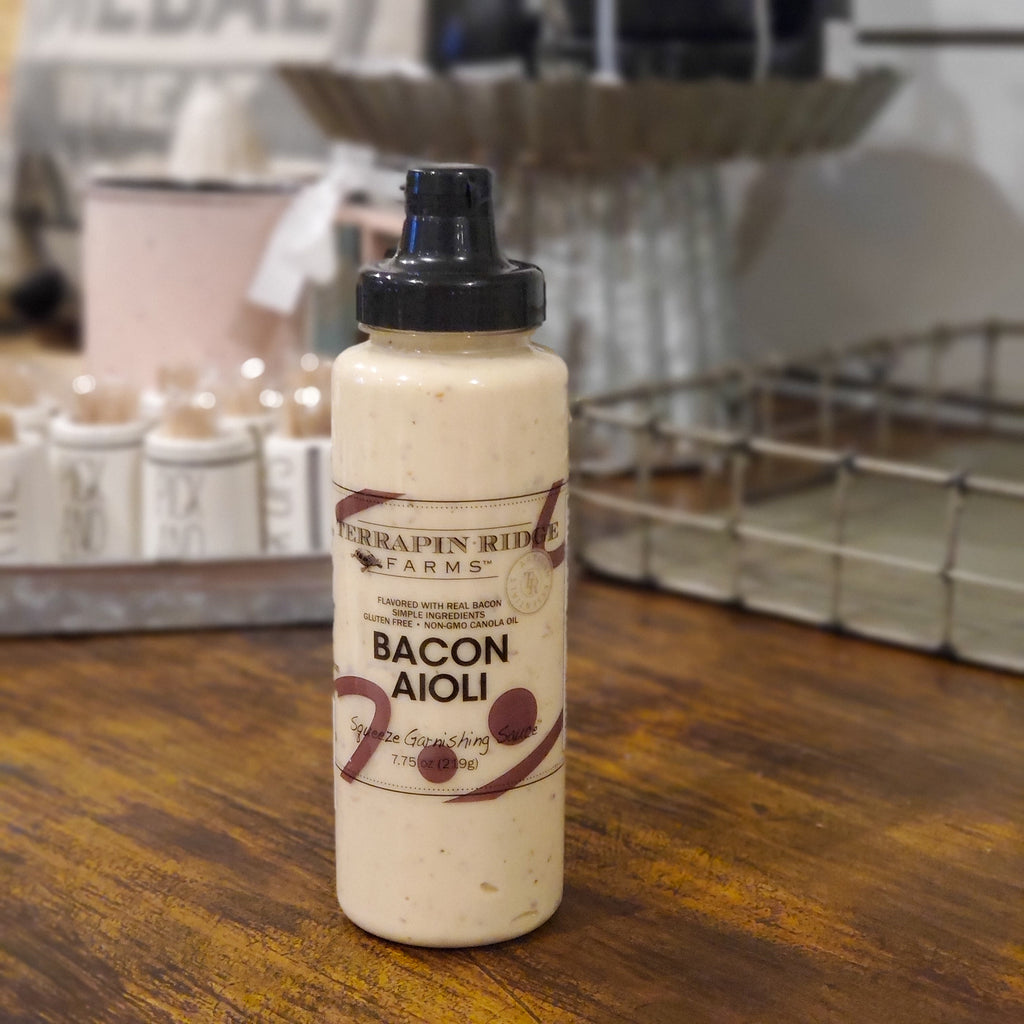 Bacon Aioli  Garnishing Squeeze - The Perfect Pair Antiques