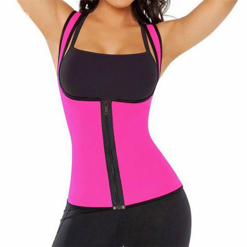 Women's Zipper Waist Corset