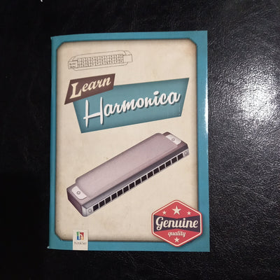 Learn Harmonica book Hinkler Blues Harp Mouth Organ Book