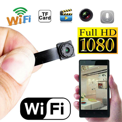 WiFi Camera Mini Spy DIY module HD with 32 GB Card rechargeable battery & antenna