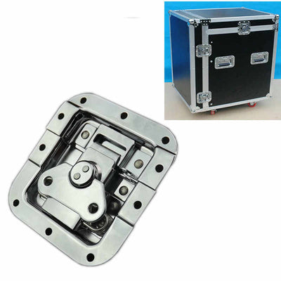 Butterfly Latch Recessed Lockable Black or Chrome Rack Flight Road Case Roadcase Flightcase Tool Box