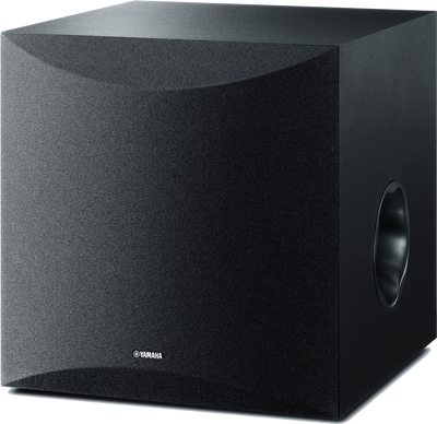 "YAMAHA 10"" 100W SUBWOOFER BLACK HIGH PERFORMANCE BASS + ACTIVE SERVO"