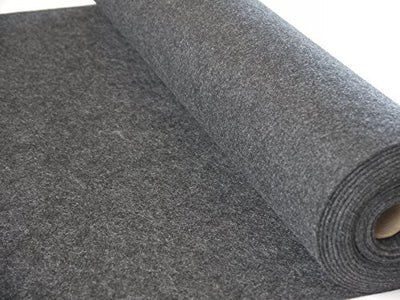 Grey Felt Fabric Thick 1m x 1m Per Meter 2mm Subwoofer Speaker Box Auto Carpet Sold Per Meter Square