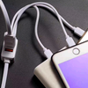 Fast Charging Multi Cable 5 in 1 for iPhone Type C Micro 2x USB ports 1.2m length FREE POSTAGE