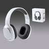 Headphones Bluetooth 4.2 Stereo Headsets Wireless Mic phone Line In Black White Free Post