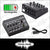 8 Channel Mini Mixer Rechargeable Metal Audio Sound Mixer Compact DJ Studio Echo Karaoke