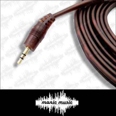 3.5mm Plug Male To 2 RCA Male AUX Stereo Audio Cable Adapter Cord FREE POSTAGE