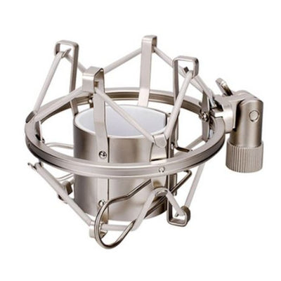 "Metal Microphone Shock Mount For 43-40mm Diameter Universal Stand Mic Holder 3'8"" or 5/8"""