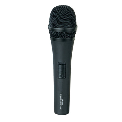 Dynamic Microphone Cardioid Vocal Karaoke Instrument Stage Mic w/ Switch & Cable